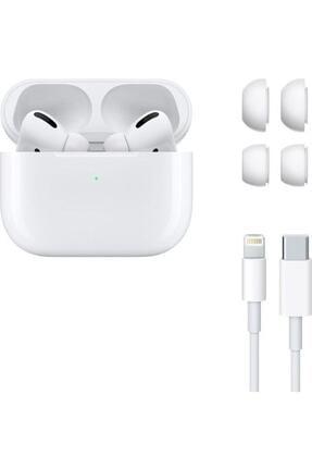 REON Beyaz Wireless Logolu Ve Seri Numaralı A+ Kalite Ios Ve Android Uyumlu  Pro Kulaklık 3
