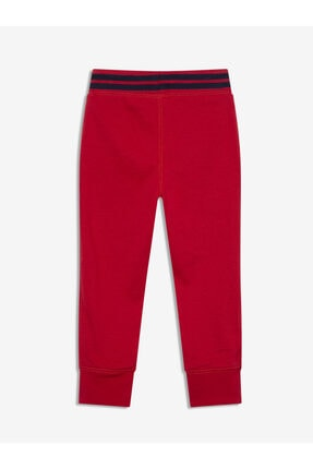 GAP Erkek Bebek Kırmızı Logo Jogger Eşofman Altı 1