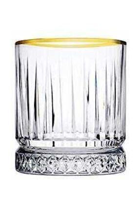 Paşabahçe Meşrubat Bardağı 4 Lü Elysıa Yaldızlı 0