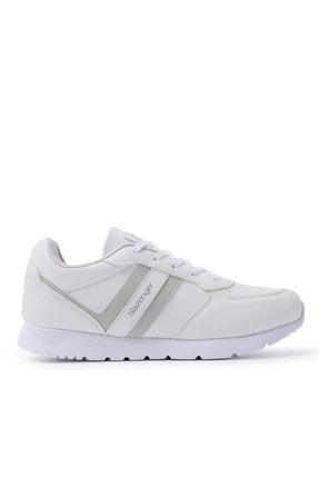 Slazenger ITALIAN Sneaker Kadın Ayakkabı Beyaz SA20RK067 0