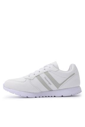 Slazenger ITALIAN Sneaker Kadın Ayakkabı Beyaz SA20RK067 3