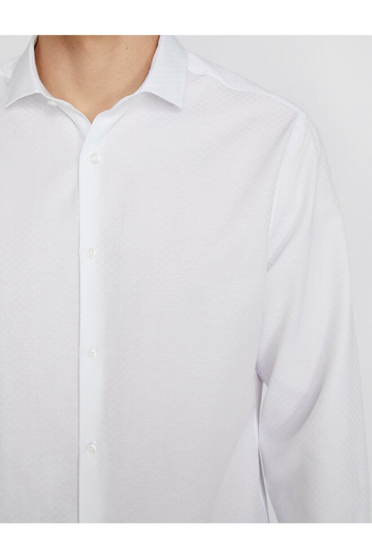 Koton Erkek Desenli Gömlek