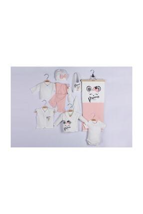 Miniworld Kız Bebek Pembe  Fiyonklu Prenses 10lu Hastane Çıkışı 1