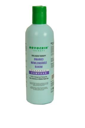 Novocrin Placenta Collagen Therapy Onarıcı Nemlendirici Bakım Şampuanı 300 ml 0