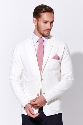 Hemington Erkek Beyaz Triko Ceket 0
