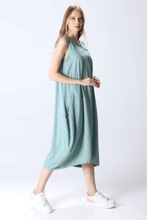Fermuar Detaylı Salaş Elbise KTEL-2566