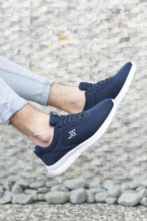 Riccon Lacivert Beyaz Unisex Sneaker 0012065 4