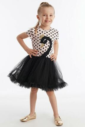 Denokids Siyah Kuğu Kız Tütü Elbise 0