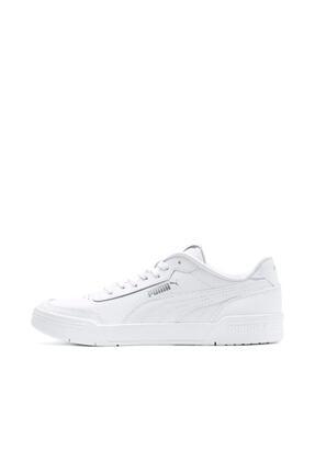 Puma CARACAL Beyaz Unisex Sneaker Ayakkabı 100480549 3