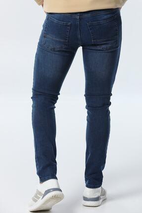 jocuss Erkek Mavi Slim Fit Likralı Pantolon 2