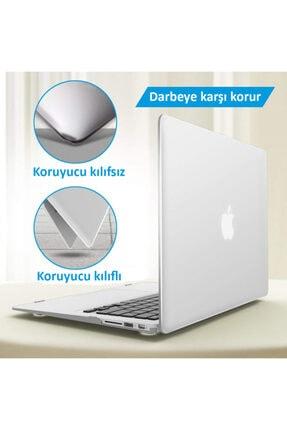 "CODEGEN Apple 13"" Macbook Air 2020 (m1) A2337 Şeffaf Kılıf Koruyucu Kapak Cmatm-133t 3"
