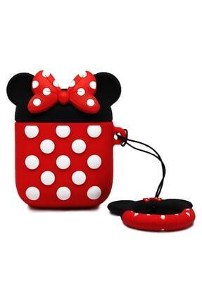 Miyosa Airpods 1 2 Uyumlu Minnie Mouse Kılıfı 0