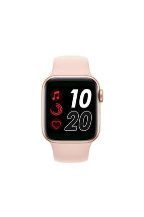 SmartWatch Unisex Pembe T500 Türkçe Menü Yeni Nesil Tam Dokunmatik 2020 Akıllı Saat 2