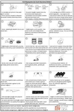Elisa Gıda Mini Sushi Set / Suşi Seti 1