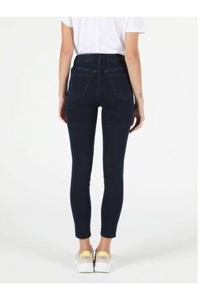 Colin's 760 Dıana Super Slim Fit Yüksek Bel Skinny Leg Kadın Koyu Indigo Jean Pantolon 1