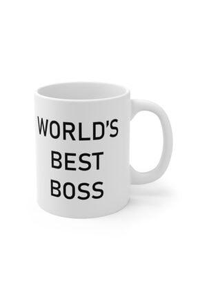 Mugs&Gift The Office Tv Series World's Best Boss Baskılı Kupa Bardak 1