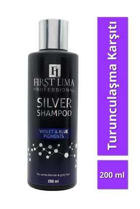First Lima Professional Turunculaşma Karşıtı Silver (mor Şampuan) 200ml 0