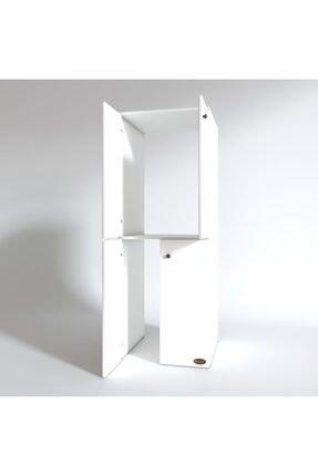 Kenzlife Çamaşır-kurutma Makinesi Dolabı Kapaklı Jelena Byz 180*70*60 Banyo Çift Katlı Ofis 2