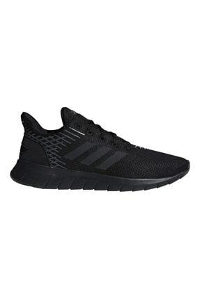 adidas F36333 Asweerun Koşu Ve Yürüyüş Erkek Spor Ayakkabı Siyah 0