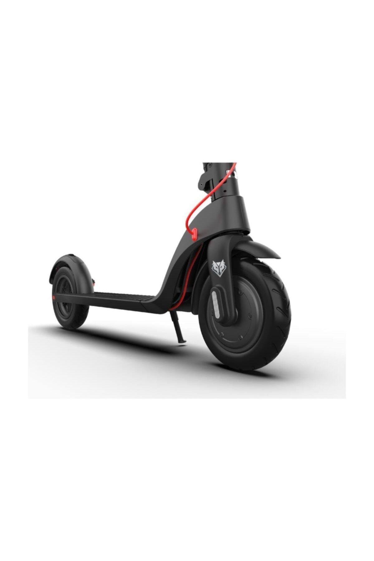 FOXSMART X7 350WATT Siyah Katlanabilir Elektirikli Scooter