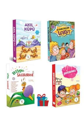 5 Renk Yayınları 1. Sınıf Akıl Küpü-şekerpare-bilge Salyangoz Hikaye Seti-timaş Levent Ilk Okuma Kitaplarım Hikaye 0