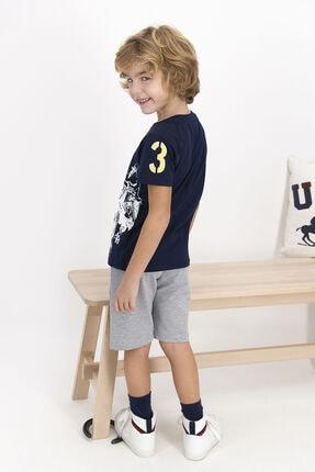 US Polo Assn Erkek Çocuk Lacivert Şort Takım 2