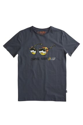 Bad Bear Erkek Baskılı Tişört (20.01.07.039-rvn) 0