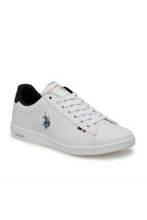 US Polo Assn Erkek Beyaz Franco Günlük Spor Ayakkabı 1