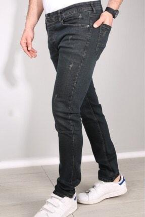 Delpino Erkek Gri Slimfit Likralı Kot Pantolon 1