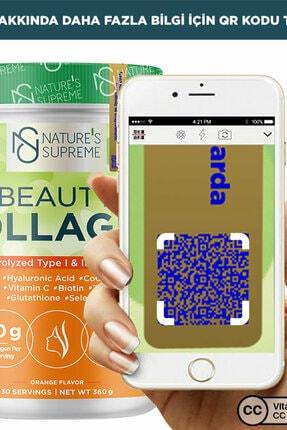 Natures Supreme Beauty Collagen Powder 360 gr - Portakal 1
