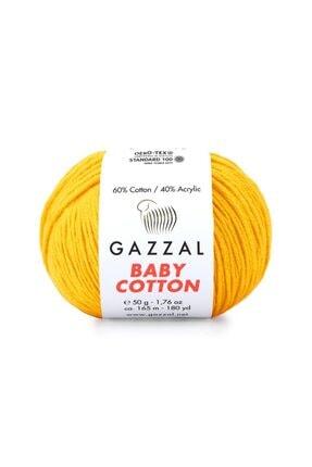 Gazzal Baby Cotton Amigurumi Ipi 50 Gr El Örgü Ipi Punch Ipi 3417 2
