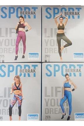 Berrak Kadın Sporcu Tayt Takım 4 Takım 8 Parça 1