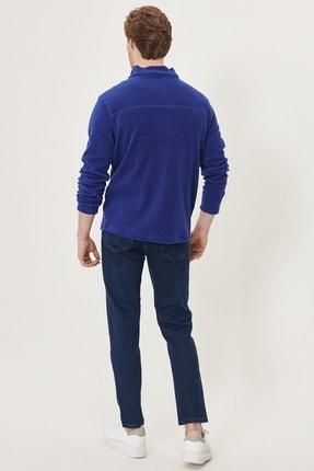 Altınyıldız Classics Erkek Lacivert Regular Fit Bol Kesim Denim Esnek Jean Kot Pantolon 3
