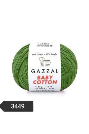 Gazzal Baby Cotton Amigurumi Ipi 50 Gr El Örgü Ipi Punch Ipi 3449 0
