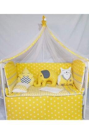 Sarı K Uyku Seti 70x130cm bebek uyku seti