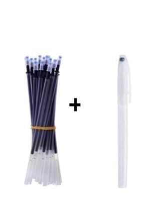 armex Isı Ile Uçan ( 1 Adet Kalem ) 15 Adet Kalem Içi Siyah Iğne Uçlu 0.5 Mm 0