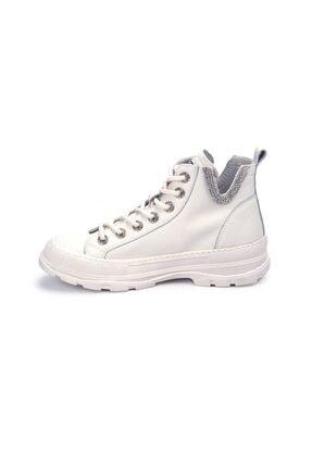 Guja Kadın Beyaz Bağcıklı Sneaker 3