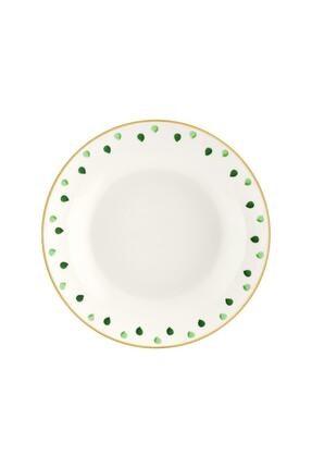 The Mia Fez Geniş Salata Kasesi - 25cm Yeşil 1