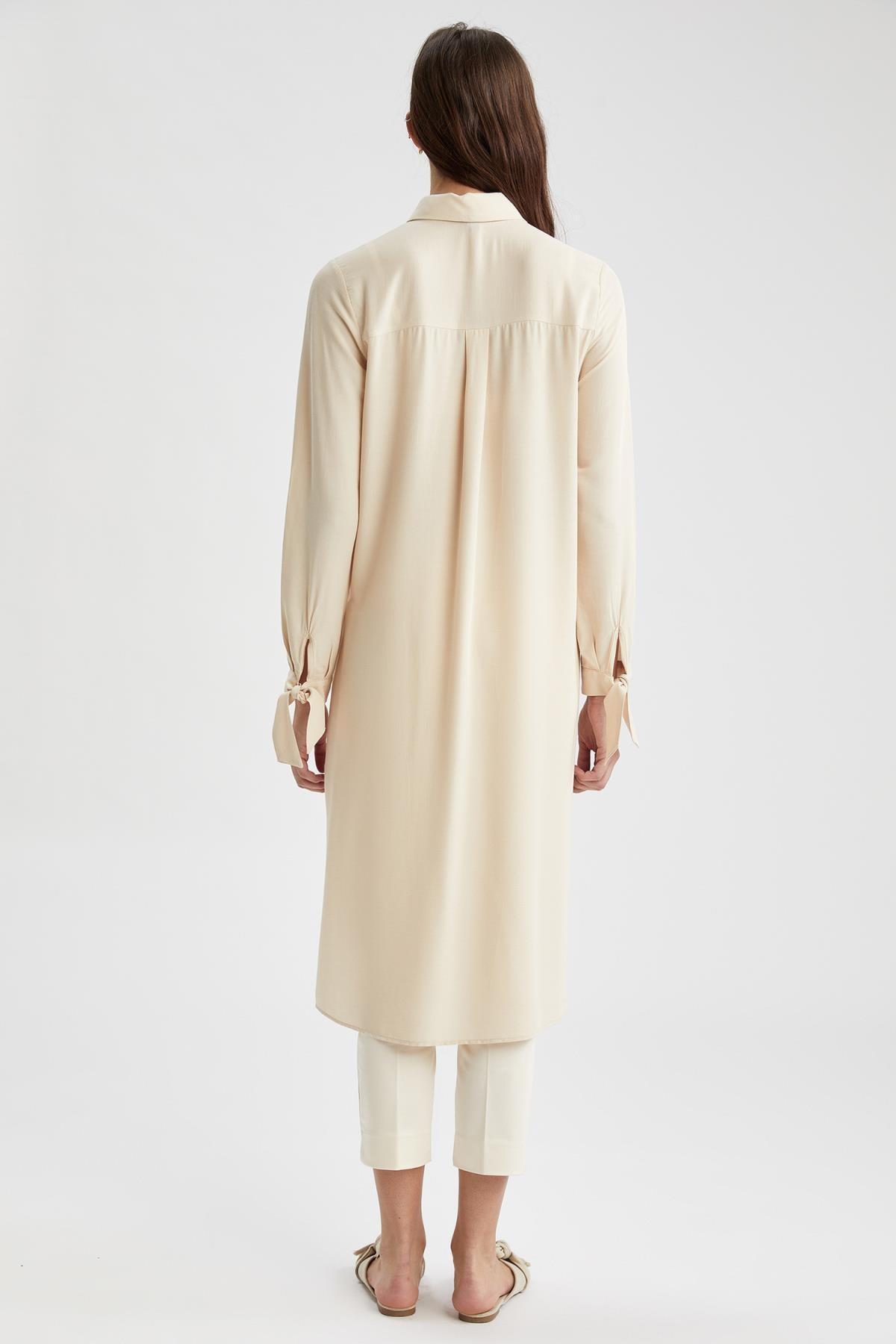 Defacto Regular Fit Uzun Gömlek Tunik 3