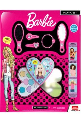 Barbie Çilek Makyaj Set, Sürülebilen Ve Aksesuarlı Harika Makyaj Set 0