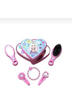 Barbie Çilek Makyaj Set, Sürülebilen Ve Aksesuarlı Harika Makyaj Set 1