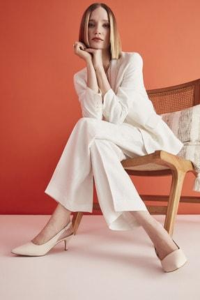 Hotiç Bej Kadın Klasik Topuklu Ayakkabı 01AYH205370A310 0