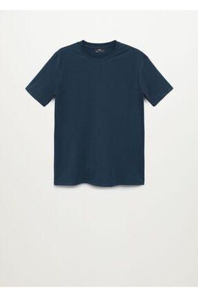Mango Pamuklu Streç Tişört 2