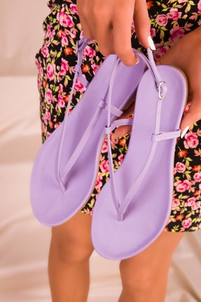 Soho Exclusive Lila Kadın Sandalet 15921 2