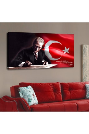 SeeShop Atatürk Portre Kanvas Tablo 120x60cm 0