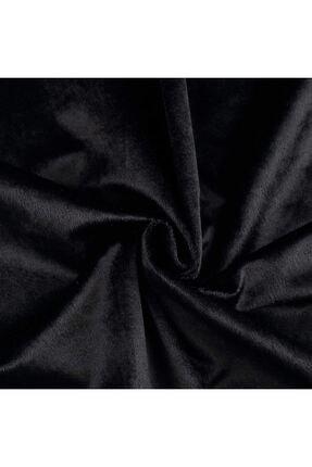 Çeyizci Siyah Kadife Nişan Masası Masa Örtüsü 135x220 cm 1