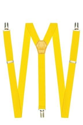 DWOY Metal Klipsli Sarı Ince Pantolon Askısı 0