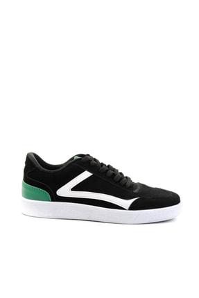 Bambi Siyah Süet Erkek Sneaker E01871000172 1