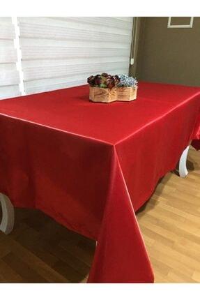 Finezza Çeyizcim Kırmızı Parti/nişan/doğum Günü Masa Örtüsü Leke Tutmaz 1