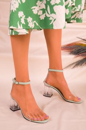 Soho Exclusive Yeşil Kadın Klasik Topuklu Ayakkabı 16132 1